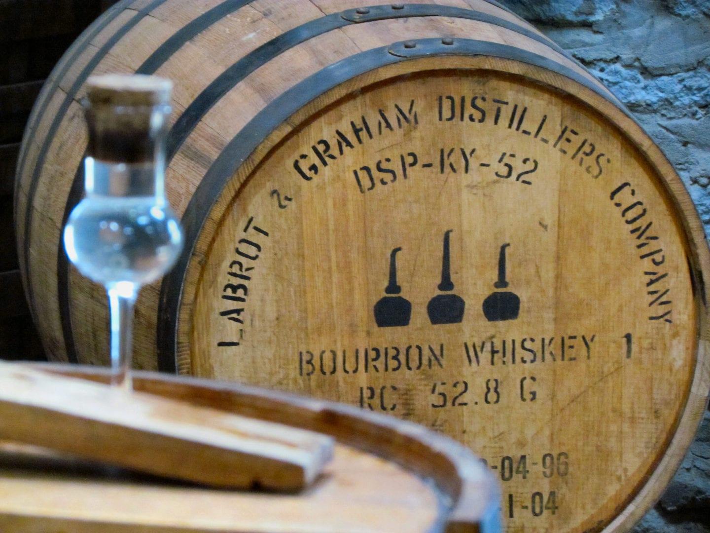 A barrel of Woodford Reserve