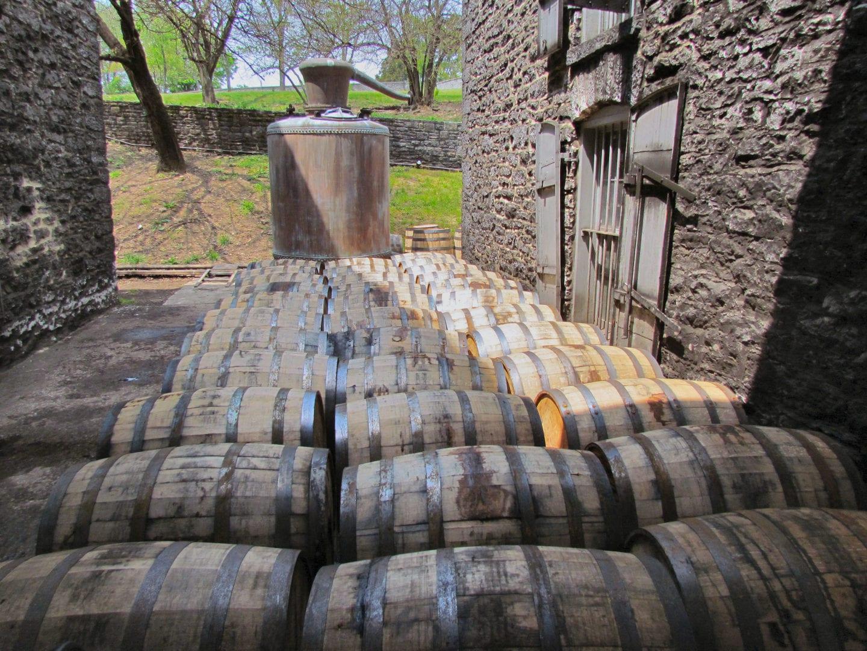 Barrels of Woodford Reserve