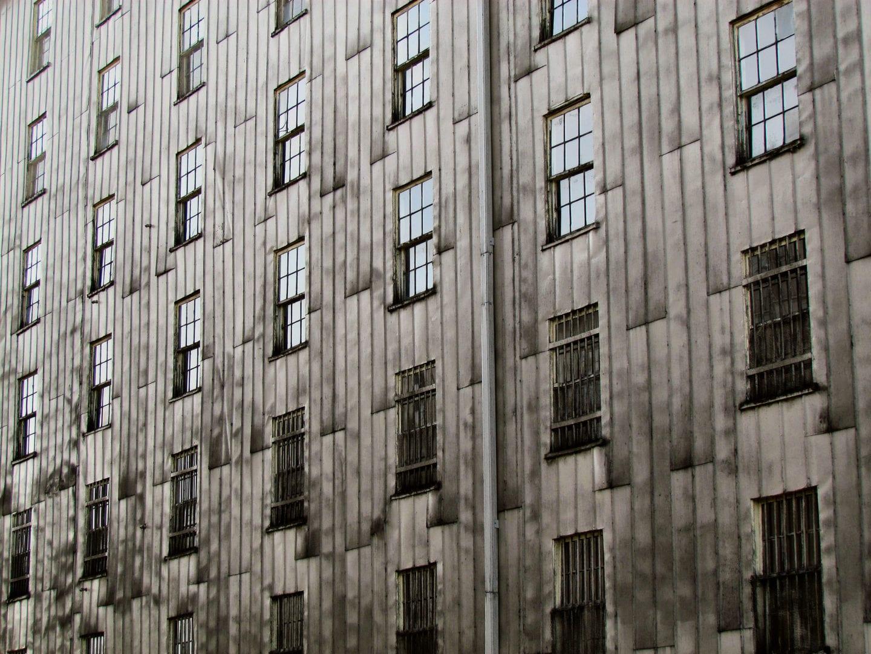 Windows of the Wild Turkey Rickhouse