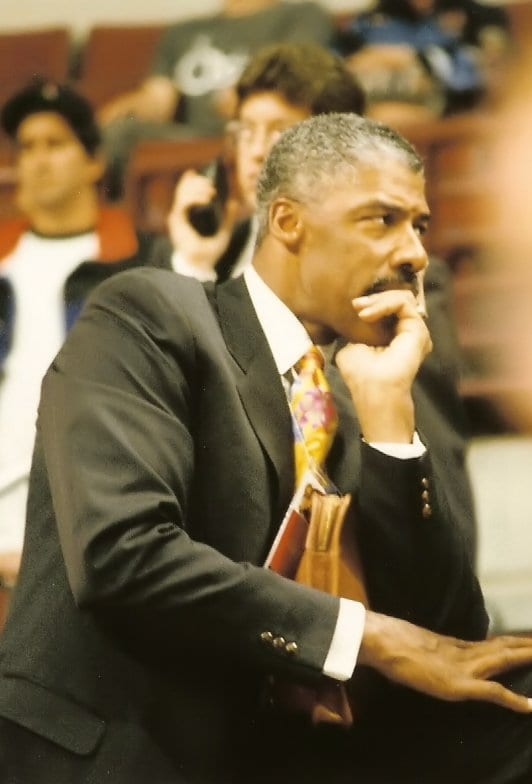 An image of Julius Erving before the game