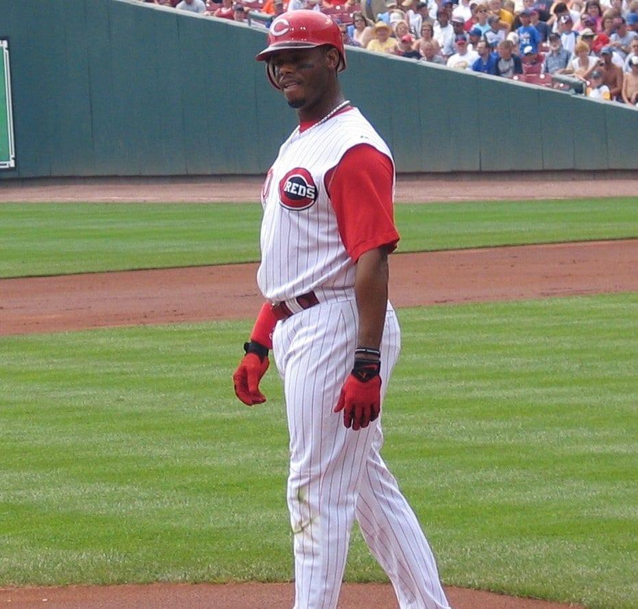 Ken Griffey Jr. in the game