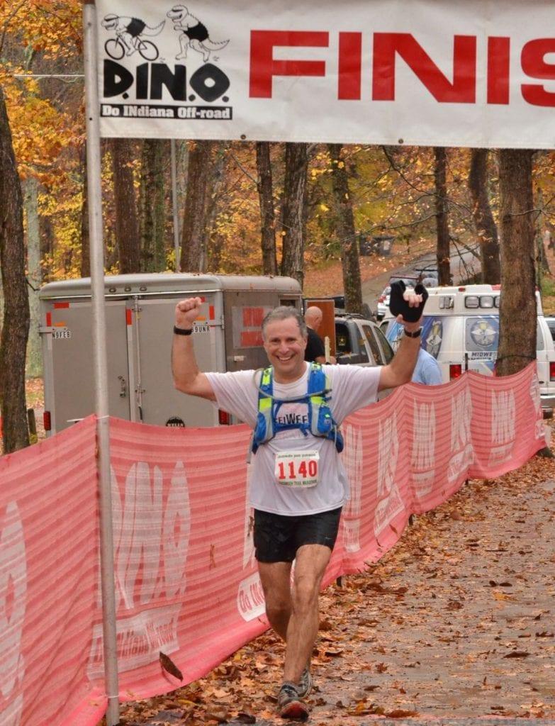 Tecumseh Trail Marathon Finish