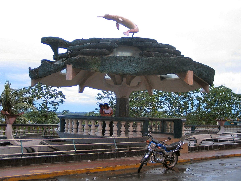 A couple in Iquitos, Peru