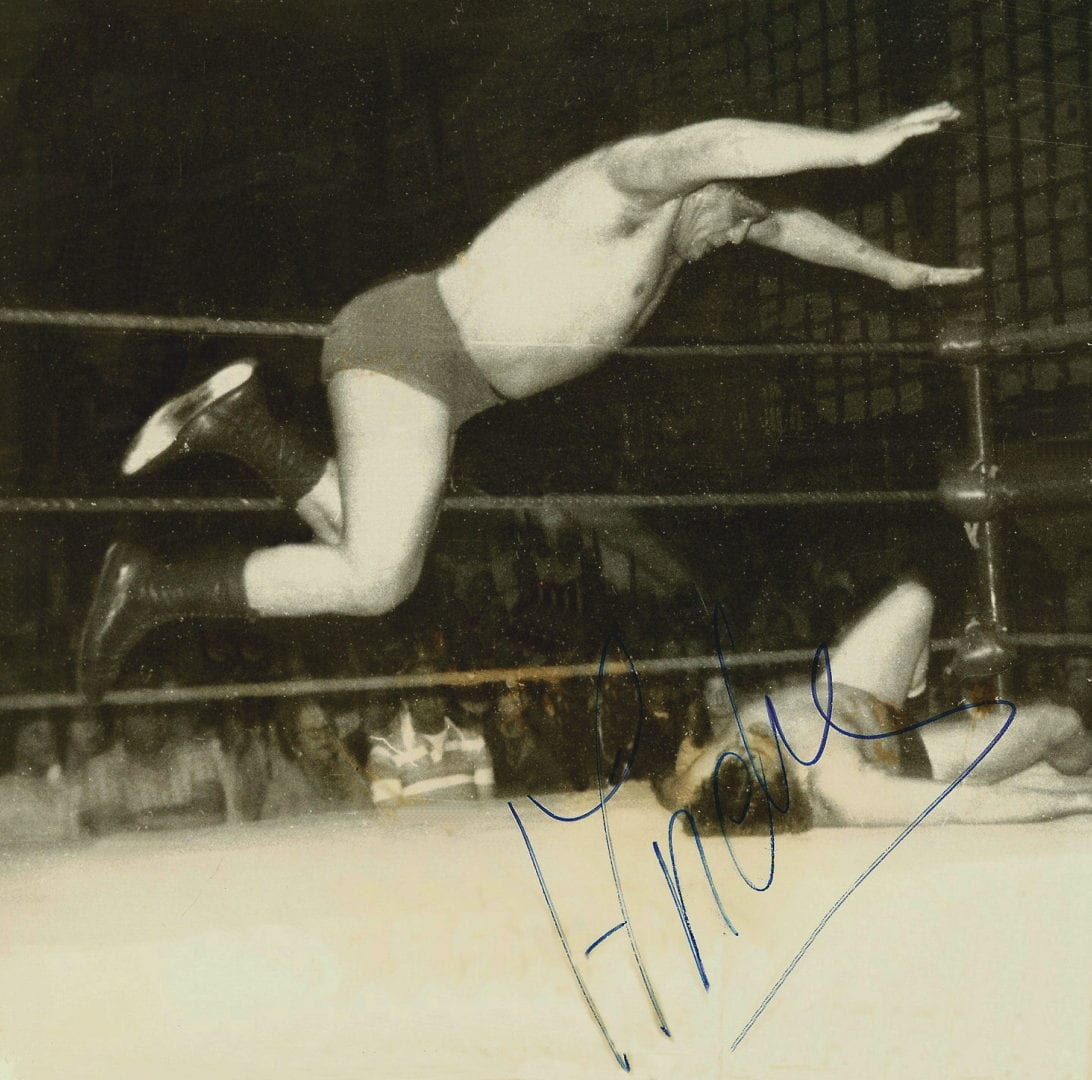 Andre The Giant autograph