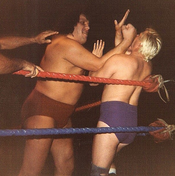 Andre The Giant vs Pat Patterson