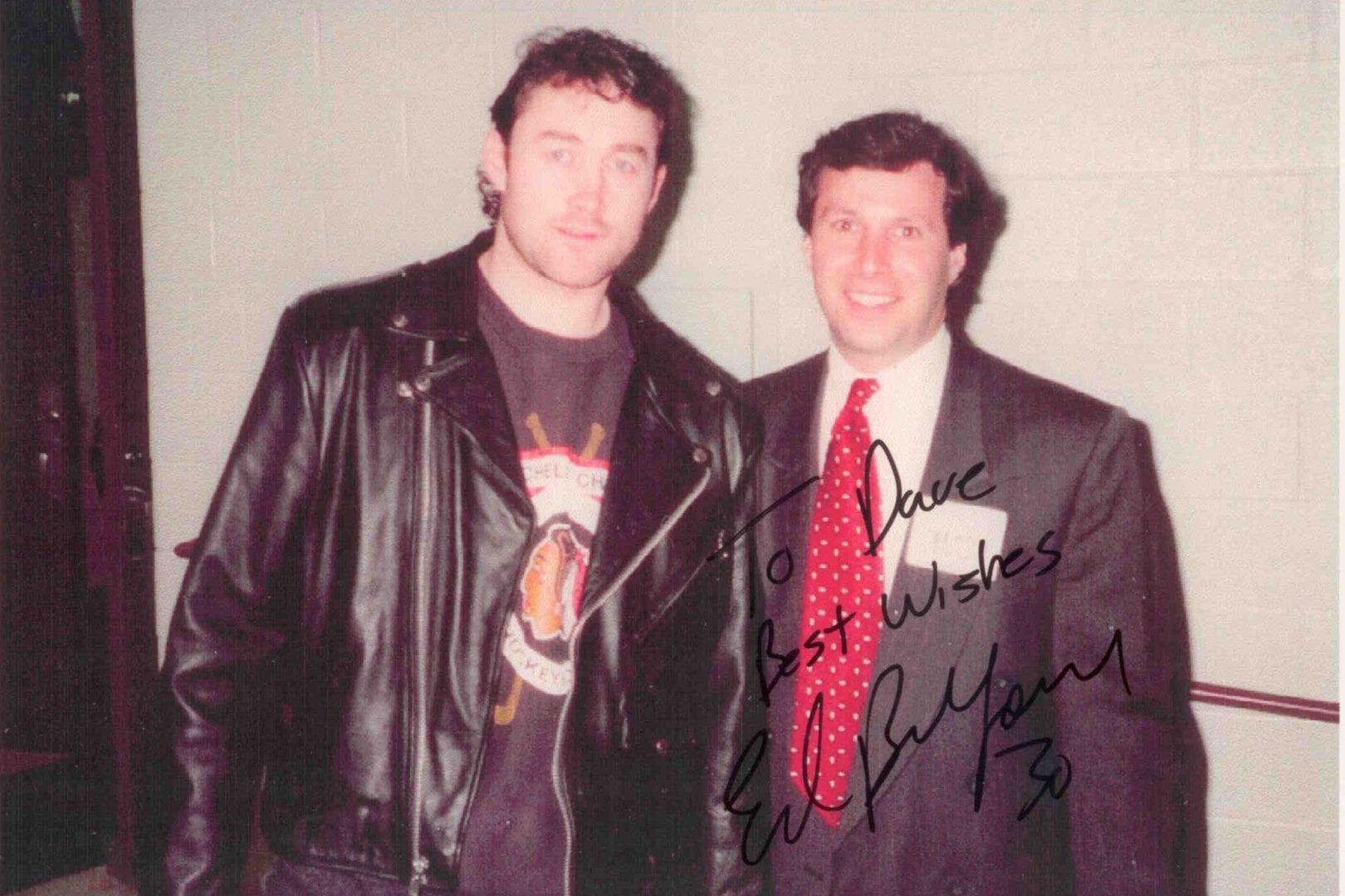 Ed Belfour autographed image