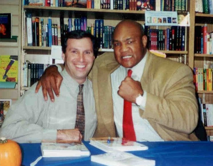 An image of George Foreman and Dave