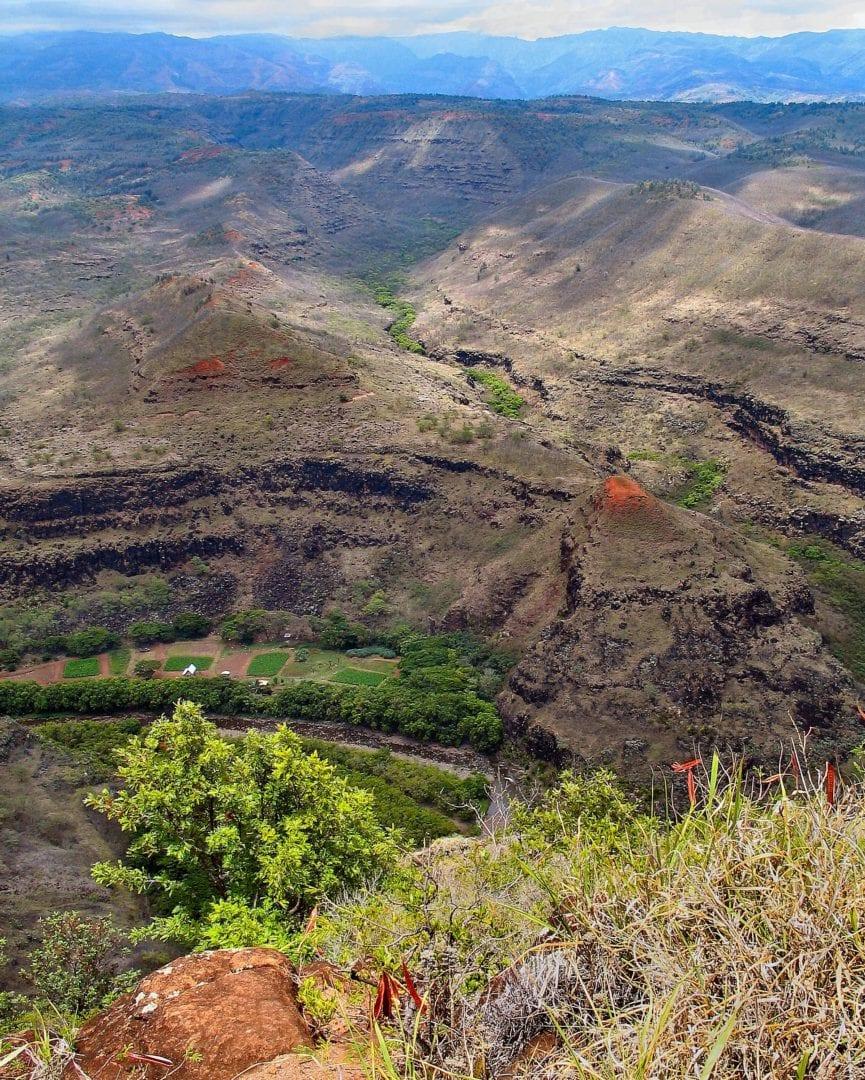 The Kauia Waimea Canyon