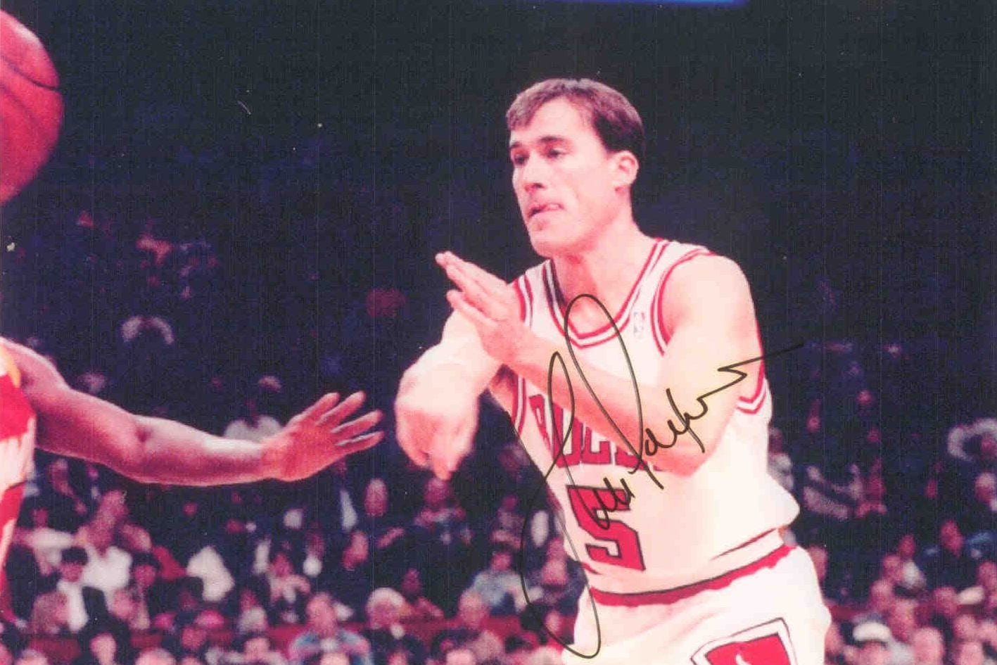 An autographed photo of John Paxon