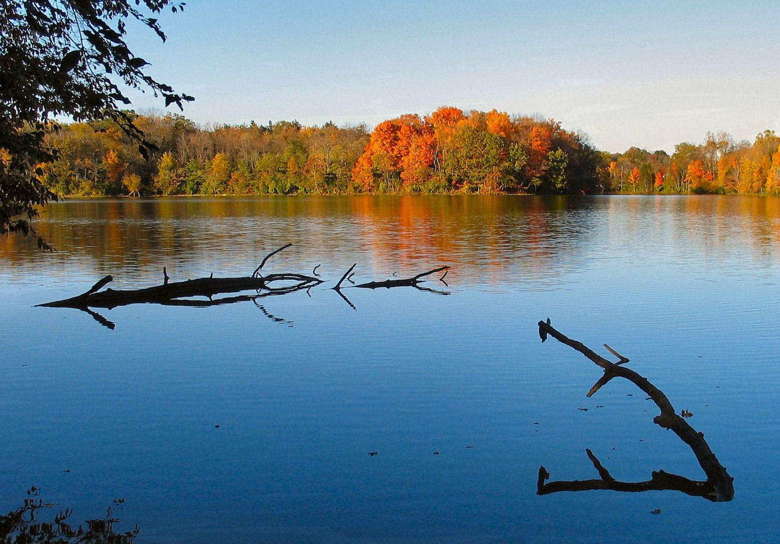 A view of Stonelick lake