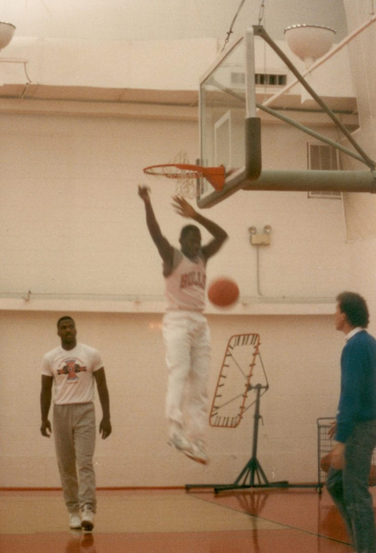 MJ after his dunk