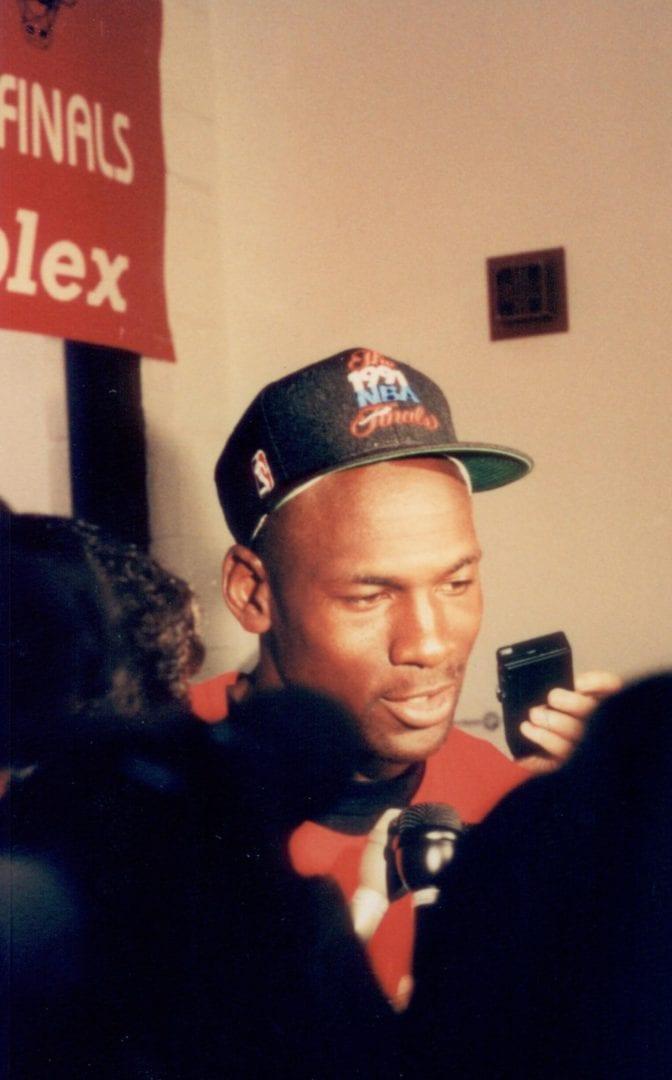 An interview with Michael Jordan