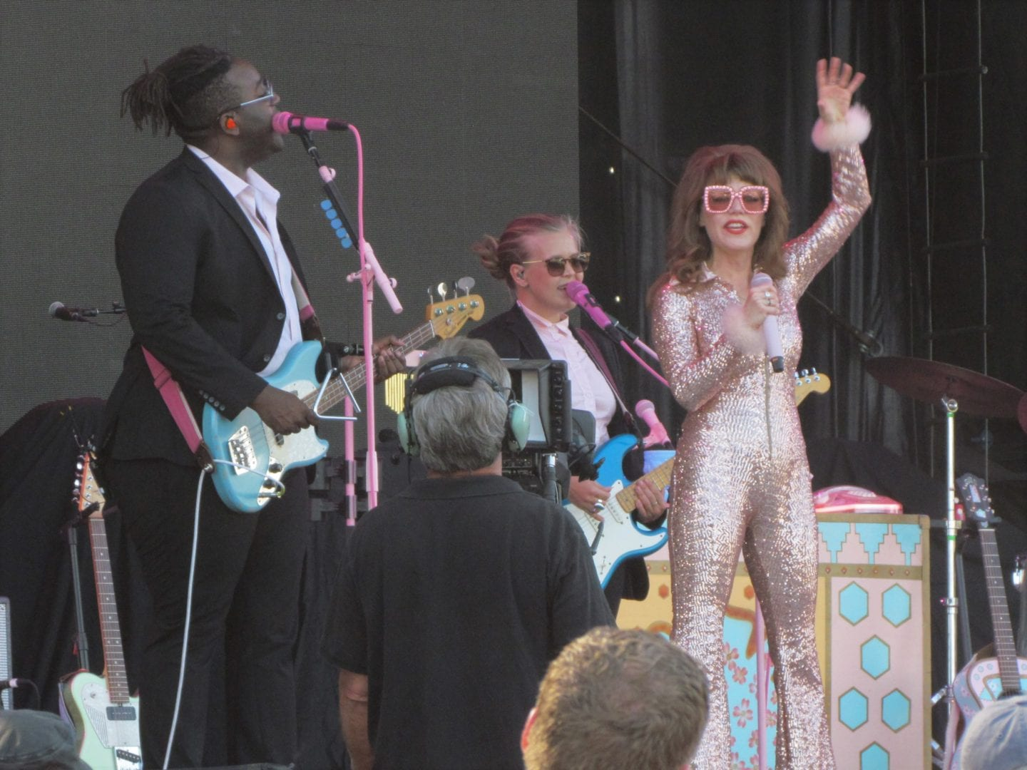 Jenny Lewis performing on stage