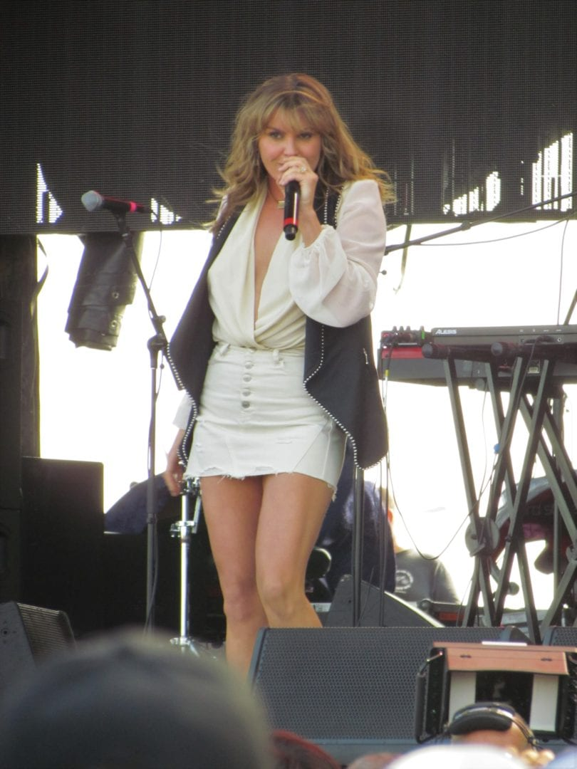 Grace Potter performing on stage