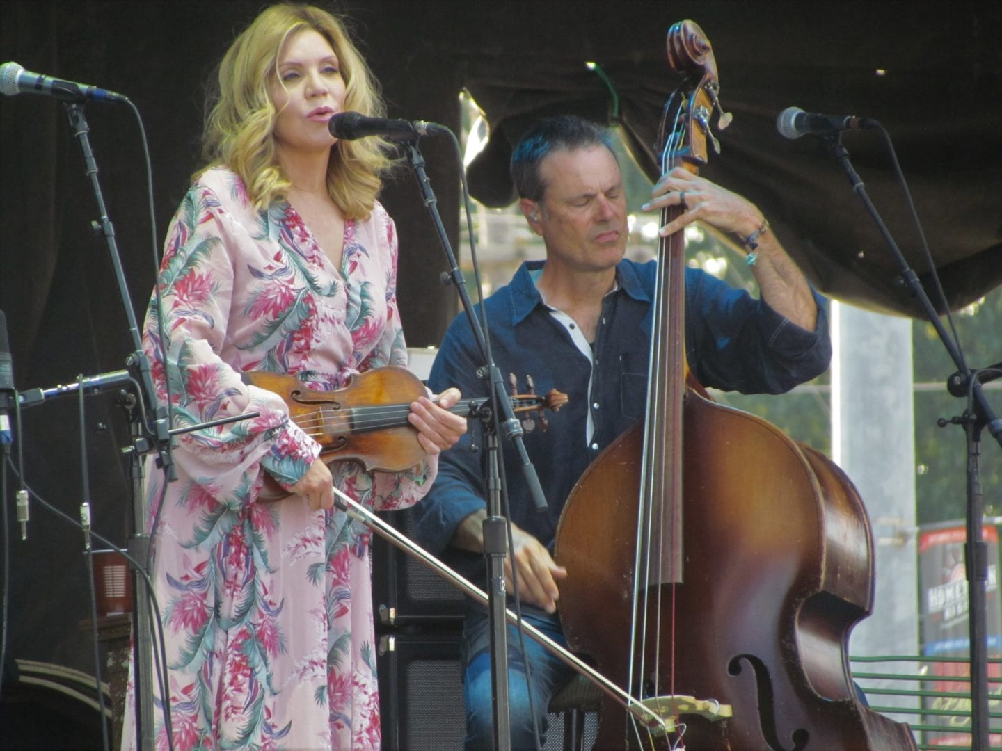 Alison Krauss singing a song