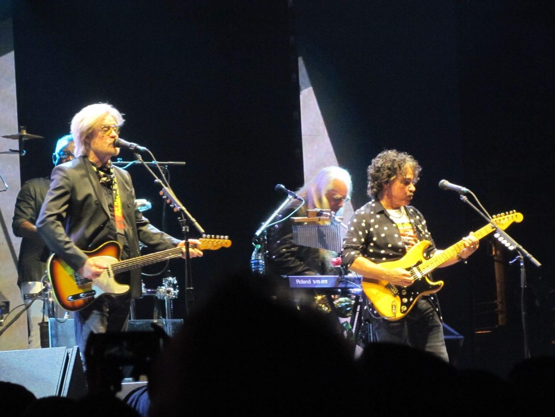 A man and his band bring music