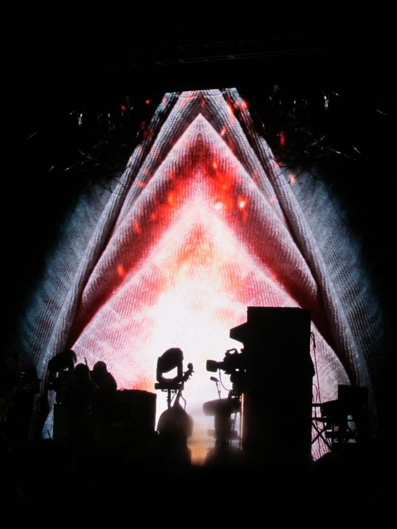 A background image for the concert