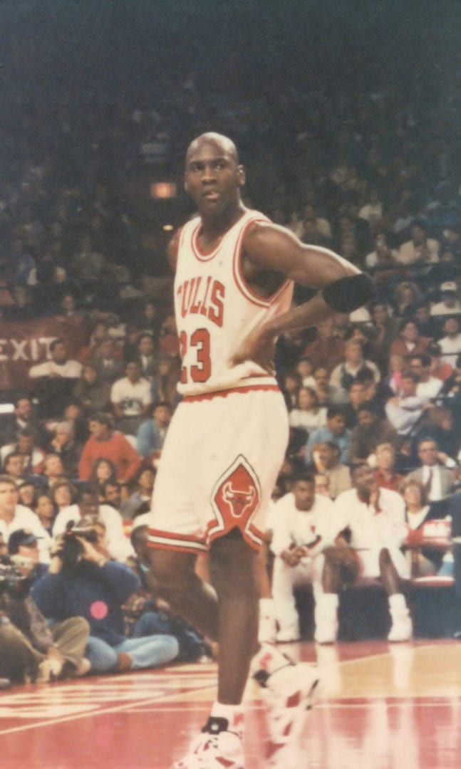 MJ taking a breather