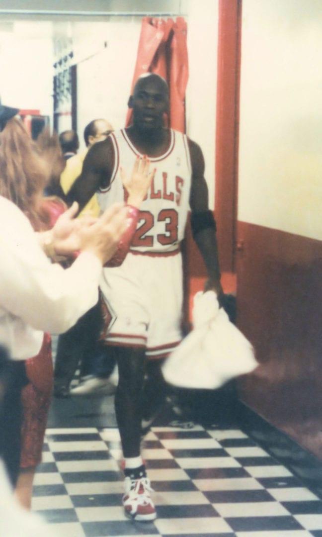 Michael Jordan post game