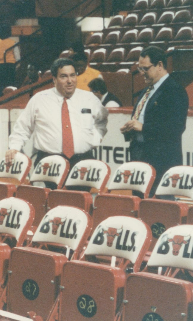 Coaches discussing before a game
