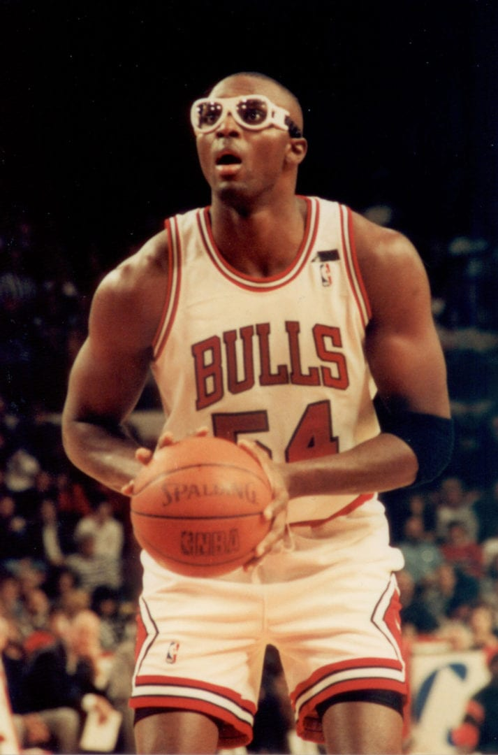 Horace Grant about to shoot