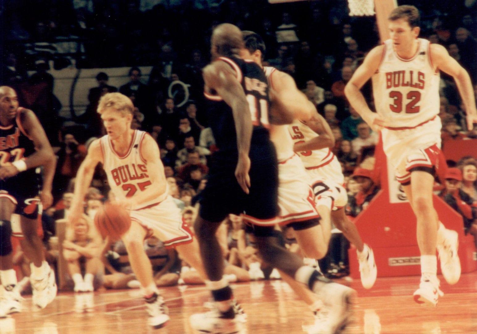 Miami Heat facing off against the Bulls
