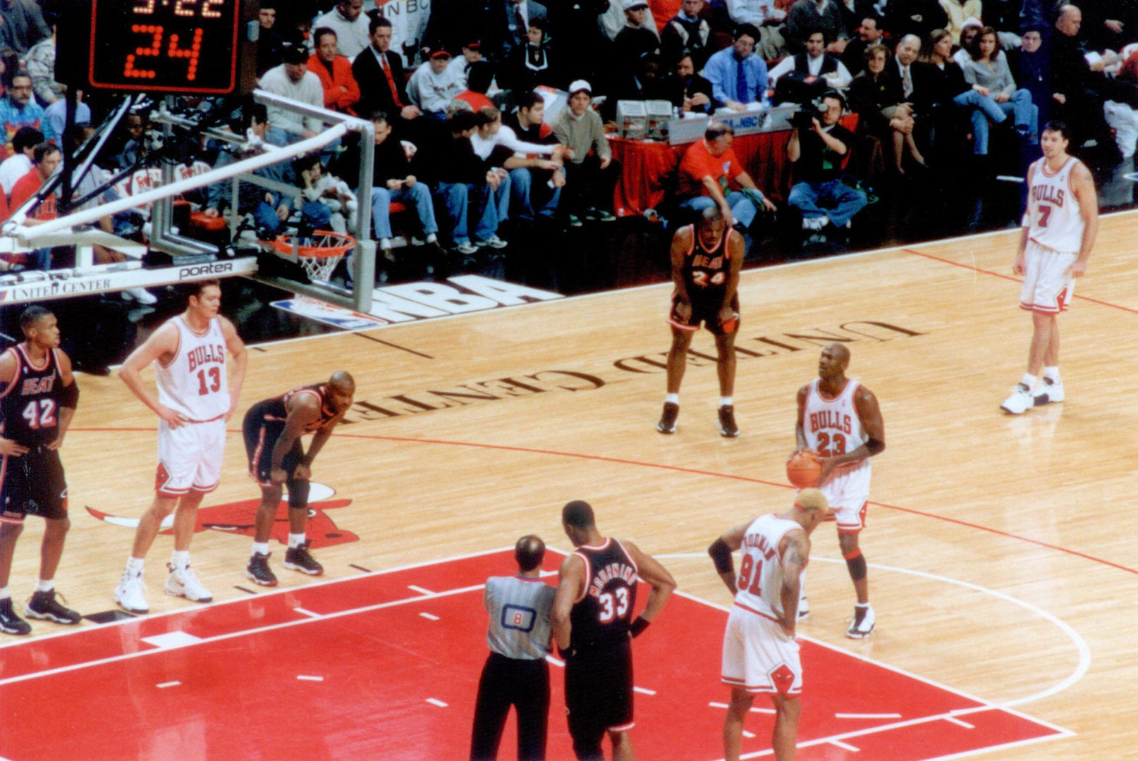Free throw for MJ