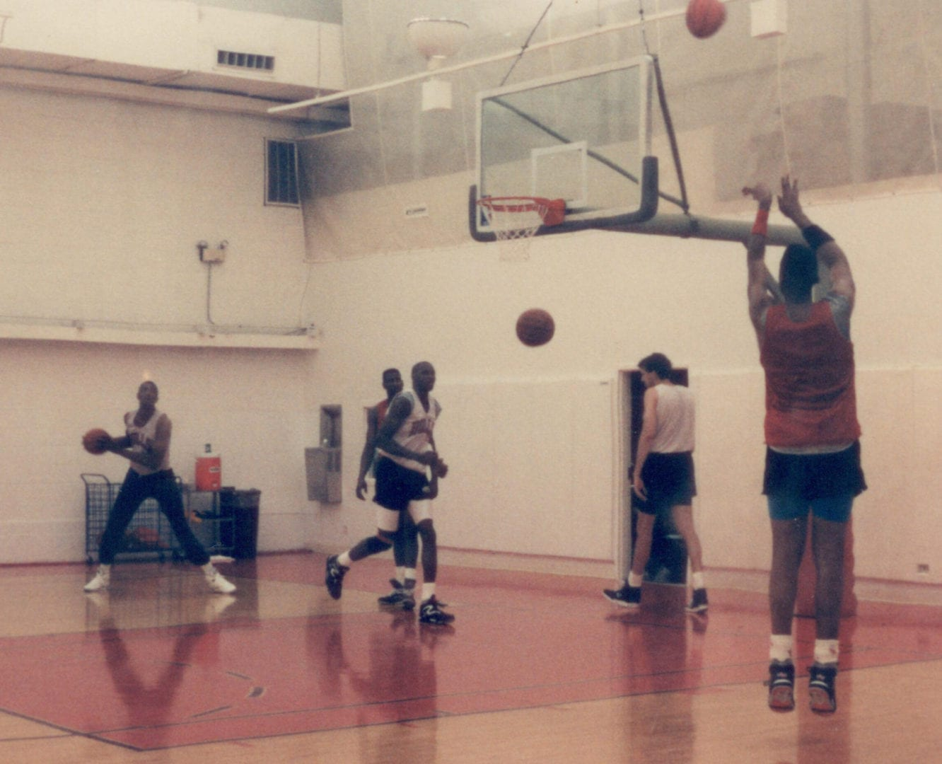 A practice of the Chicago Bulls