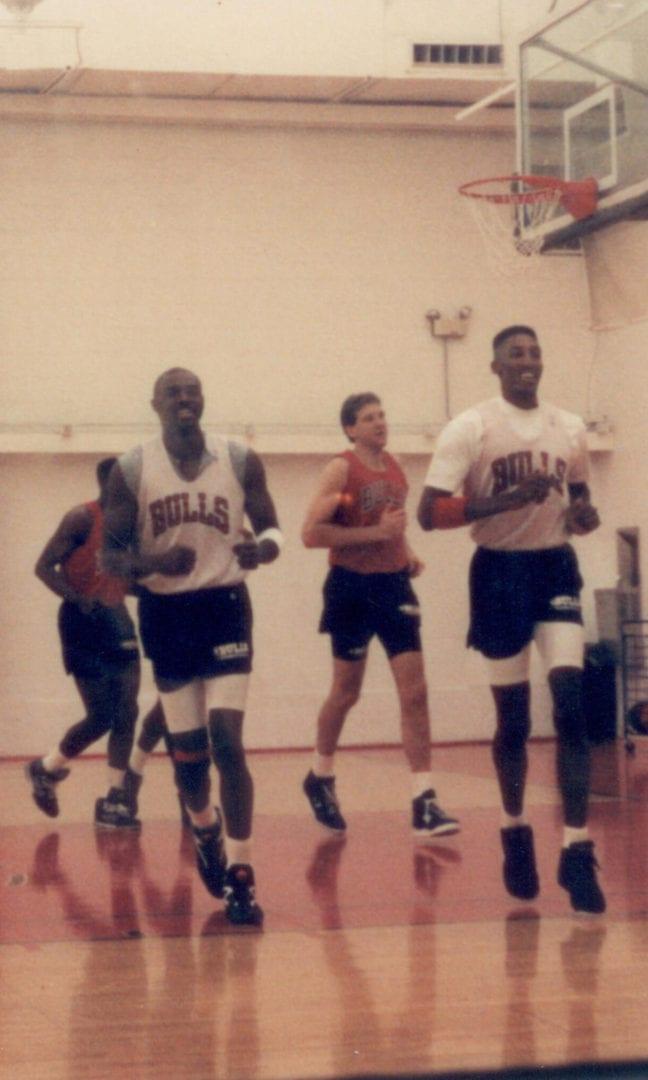 Practice of the Chicago Bulls