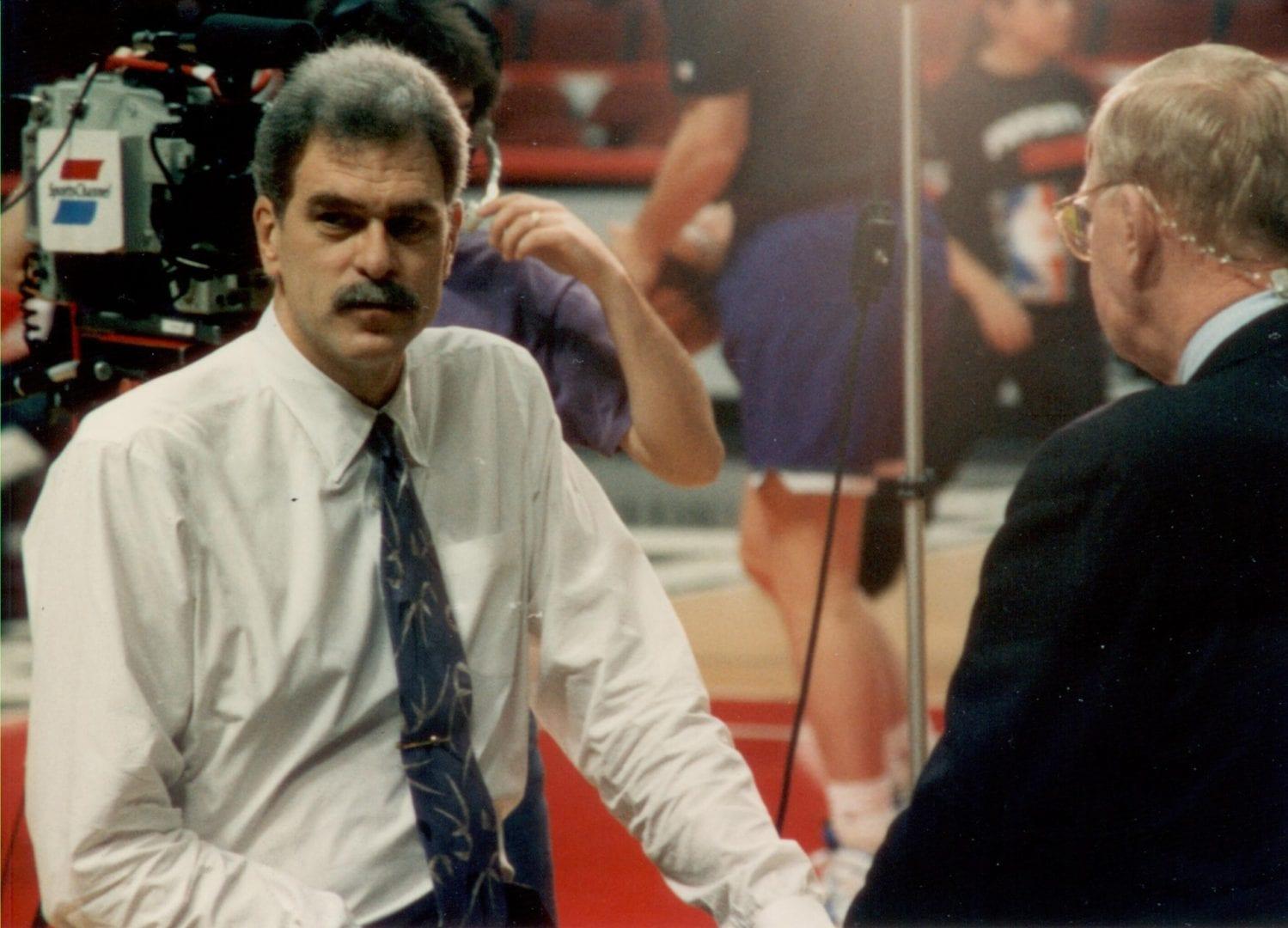 An interview of a coach