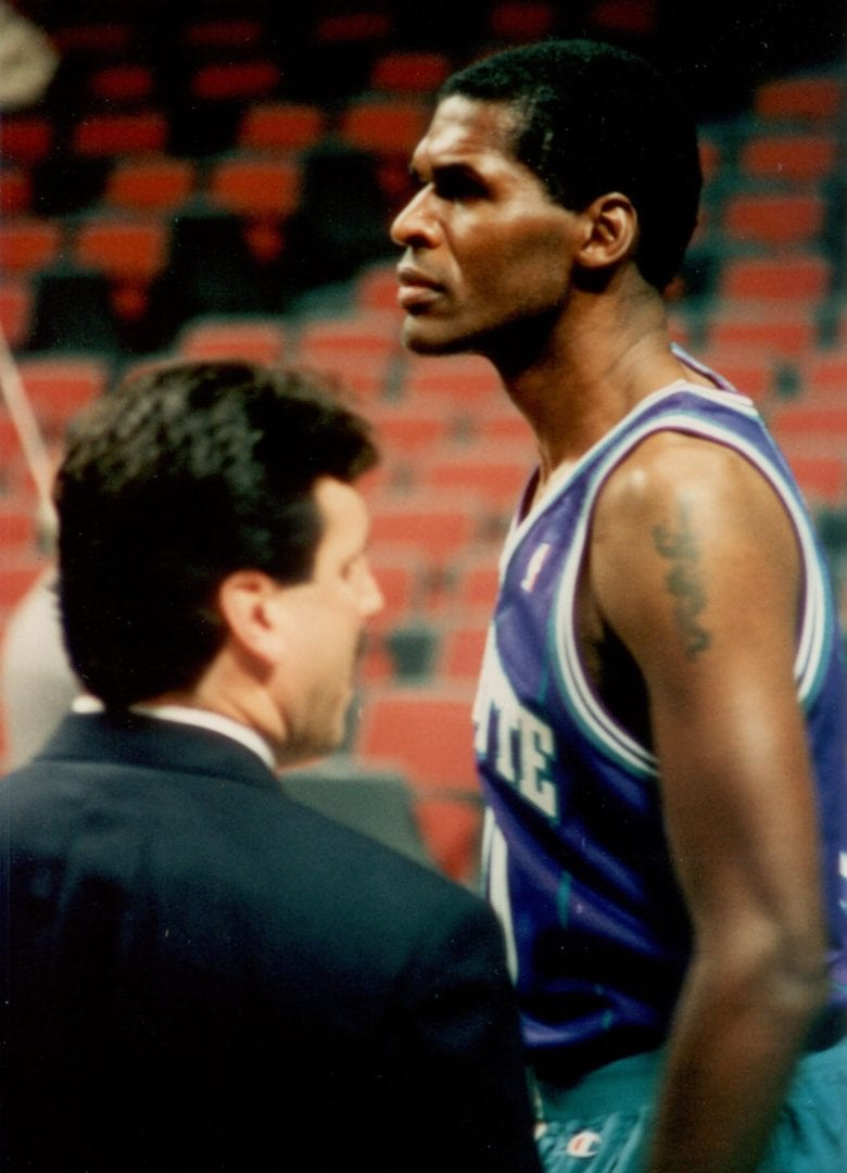 Robert Parish ready for the game