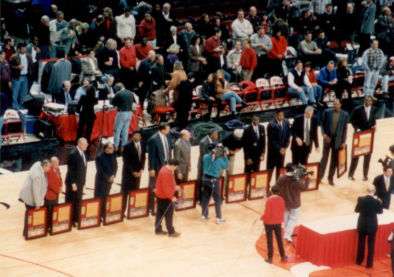 The Greatest players of Chicago Bulls lining up for awards